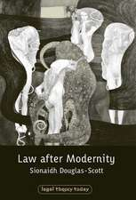 Law After Modernity:  National Judges and the Ecj