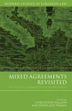 Mixed Agreements Revisited: The EU and its Member States in the World
