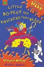 Little Bo-Peep Has Knickers That Bleep