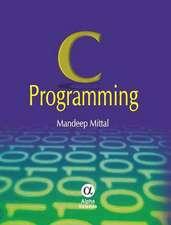 Mittal, M: C Programming