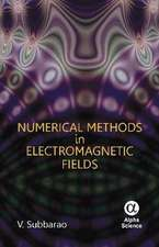 Numerical Methods in Electromagnetic Fields