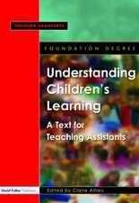 Understanding Children's Learning