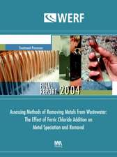 Assessing Methods of Removing Metals from Wastewater