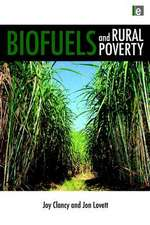 Biofuels and Rural Poverty