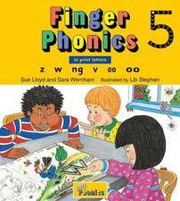 Finger Phonics 5:  In Print Letters