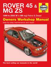 Rover 45 and MG ZS Petrol and Diesel Service and Repair Manu: Rover 45 / MG ZS Petrol & Diesel (99 - 05) V to 55