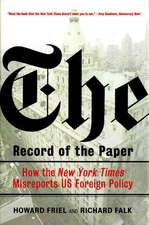 Record of the Paper