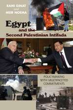 Egypt and the Second Palestinian Intifada