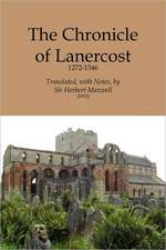 Chronicle of Lanercost, 1272-1346