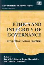 Ethics and Integrity of Governance – Perspectives Across Frontiers