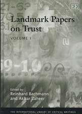 Landmark Papers on Trust
