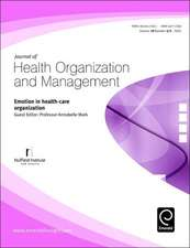 Emotion in Health-Care Organization