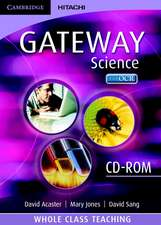 Cambridge Gateway Sciences Science Whole Class Teaching CD-ROM