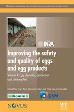 Improving the Safety and Quality of Eggs and Egg Products: Volume 1: Egg Chemistry, Production and Consumption