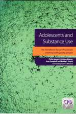 Adolescents and Substance Use:  Maximising Your Chances of Success