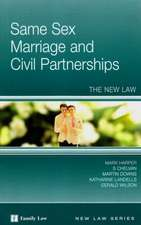Same Sex Marriage and Civil Partnerships:  The New Law