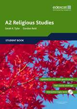Tyler, S: Edexcel A2 Religious Studies Student book and CD-R