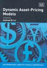 Dynamic Asset-pricing Models