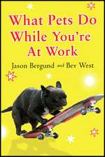 What Pets Do While You're At Work