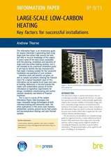 Large-scale Low-carbon Heating