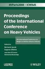 ICWIM 5, Proceedings of the International Conference on Heavy Vehicles: 5th International Conference on Weigh–in–Motion of Heavy Vehicles