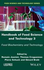 Handbook of Food Science and Technology 3