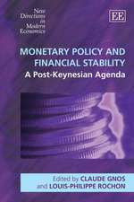 Monetary Policy and Financial Stability: A Post-keynesian Agenda