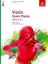 Violin Exam Pieces 2016-2019, ABRSM Grade 4, Score & Part: Selected from the 2016-2019 syllabus