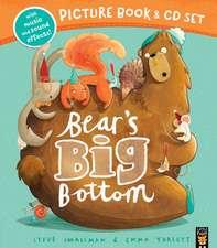 Bear's Big Bottom Book & CD