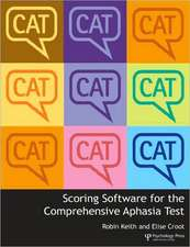 Scoring Software for the Comprehensive Aphasia Test