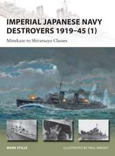 Imperial Japanese Navy Destroyers 1919 45 (1):  Minekaze to Shiratsuyu Classes