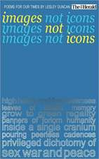 Images Not Icons:  Poems for Our Times