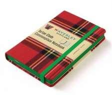 Waverley (L): Royal Stewart Tartan Cloth Notebook