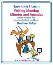 Writing Meeting Minutes and Agendas. Taking Notes of Meetings. Sample Minutes and Agendas, Ideas for Formats and Templates. Minute Taking Training Wit:  How to Prepare, Write and Organise Agendas and Minutes of Meetings. Your Role as the Minute Taker an