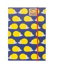 Anorak Kissing Hedgehogs Notebook:  Focus. Slow Down. de-Stress.