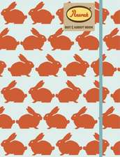 Anorak Kissing Rabbits Notebook