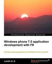 Windows Phone 7.5 Application Development with F#