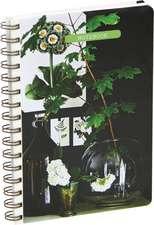 Botanical Style Medium Spiral-Bound Notebook