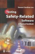 Testing Safety-Related Software: A Practical Handbook