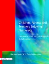 Children, Parents and Teachers Enjoying Numeracy