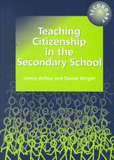 Teaching Citizenship in the Secondary School