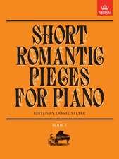 Short Romantic Pieces for Piano, Book I