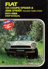 Fiat 124 Coupe / Spider &:  Gold Portfolio 1962-1980