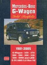 Mercedes-Benz G-Wagen Gold Portfolio 1981-2005:  1965-1972