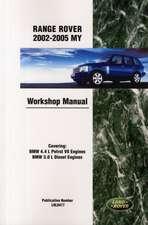 Range Rover 2002-2005 My Workshop Manual:  Superlight, R300, R400, L R500, R600, Roadsport, Super Seven, Classic Black