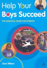 Help Your Boys Succeed