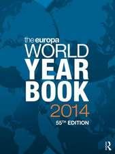The Europa World Year Book 2 Volume Set