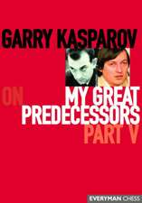 My Great Predecessors:  Part V