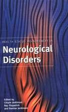 Health Status Measurement in Neurological Disorders
