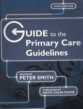 Guide to the Primary Care Guidelines